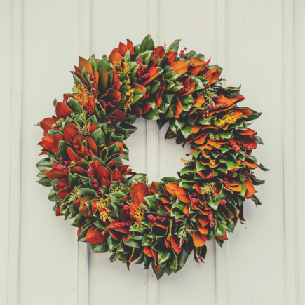 magnolia-wreaths-for-front-door